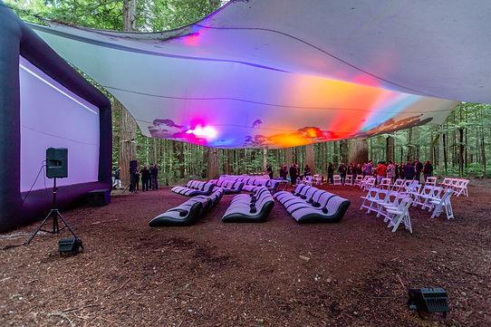 Inflatable Outdoor Cinema