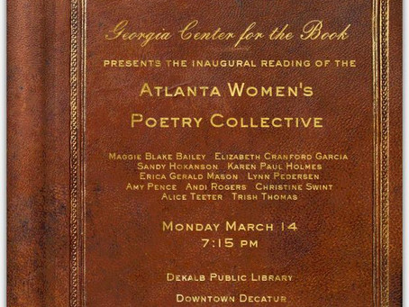 Georgia Center for the Book: AWPC Reading