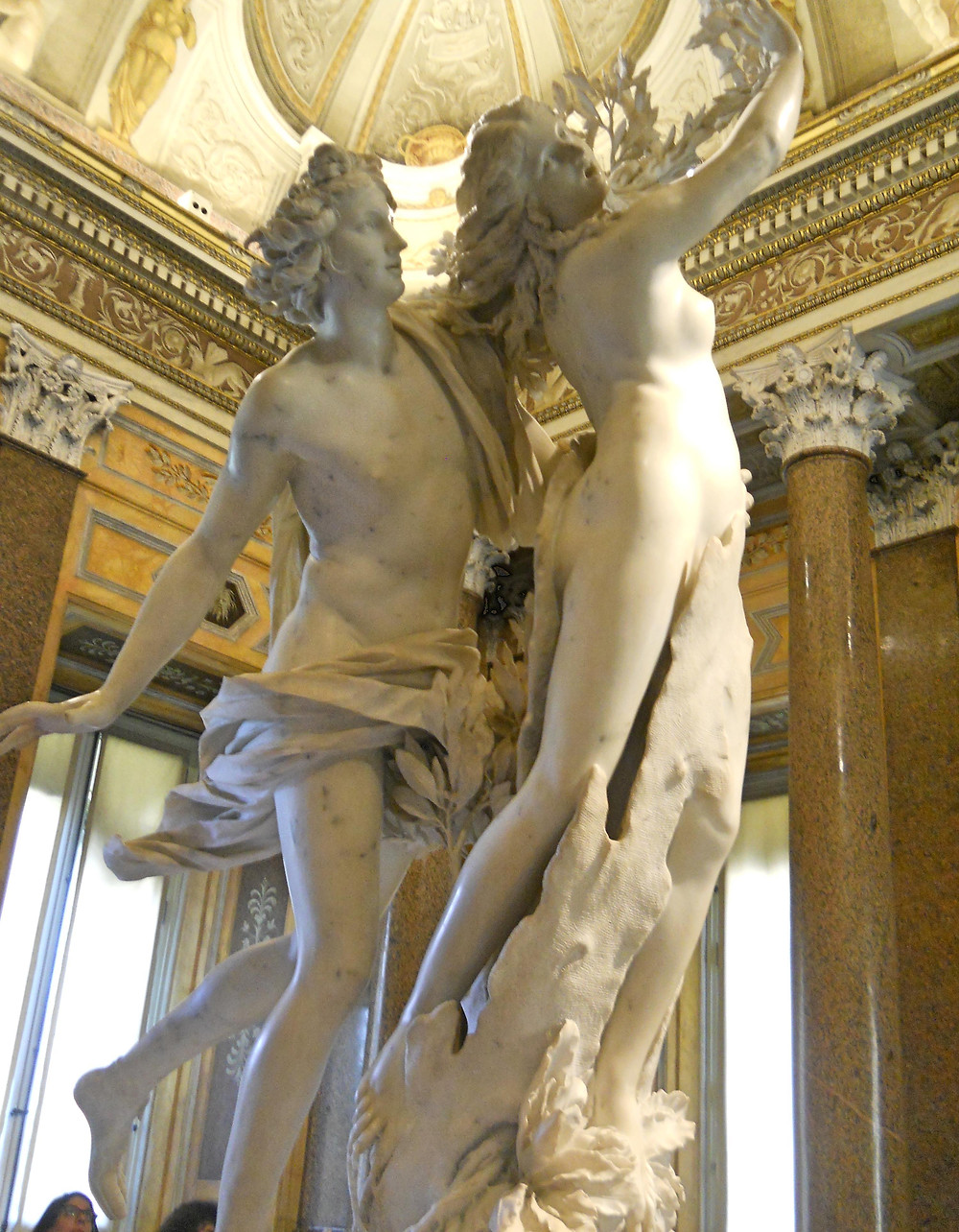 Bernini's Apollo & Daphne at the Villa Borghese, Rome, Italy...June 2015