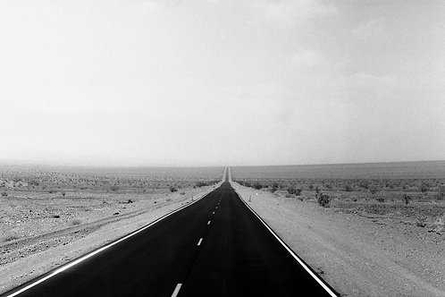 """Entering Death Valley"" Print"
