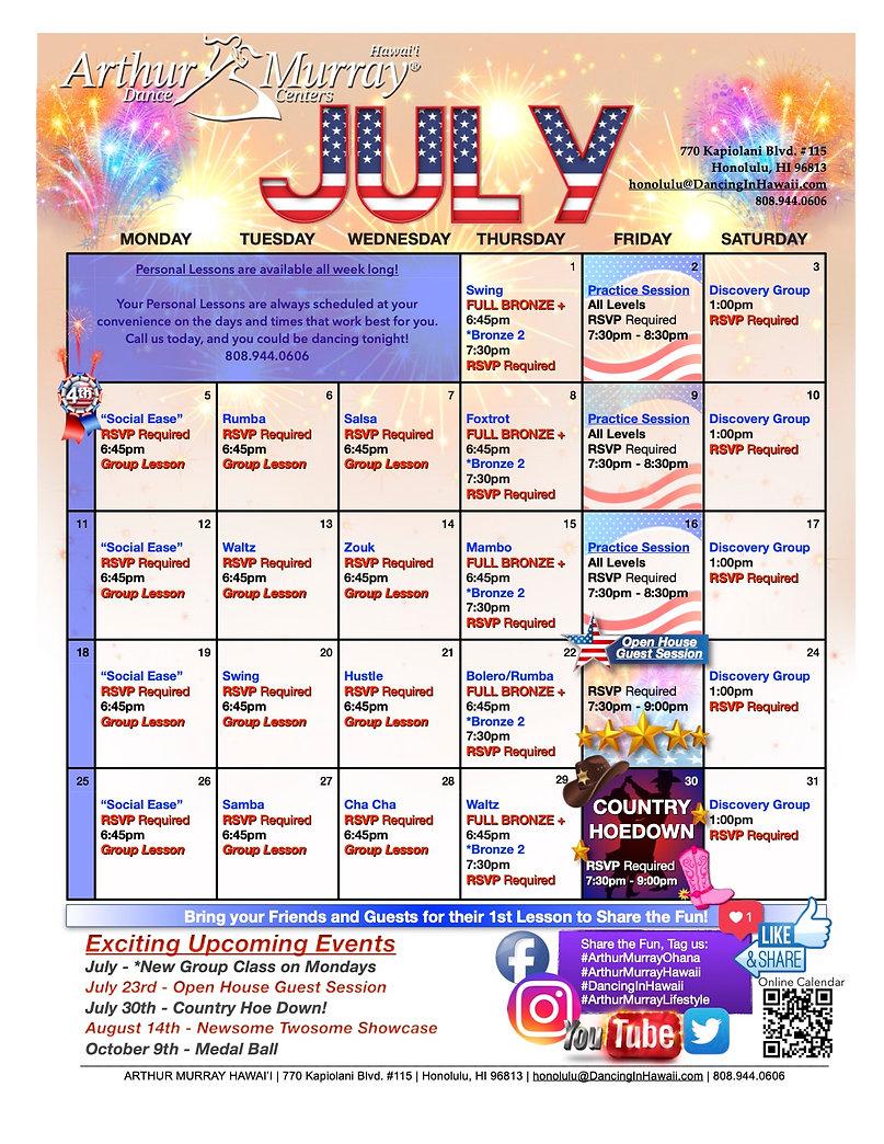 Honolulu Calendar 2021-July.jpg