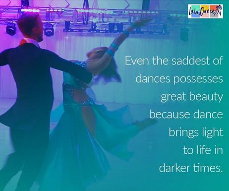 Dance brings light