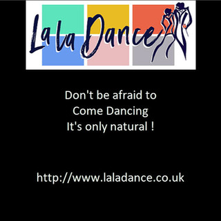 Come dancing it's only natural