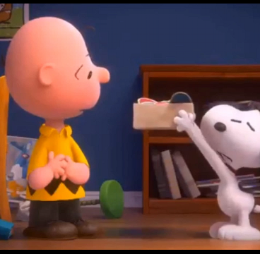 Charlie Brown learns to dance