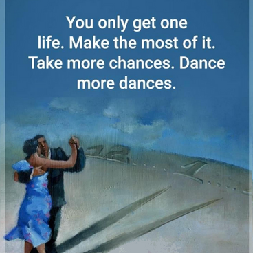 Dance more dances