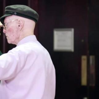 Meet Jim 100 years old...