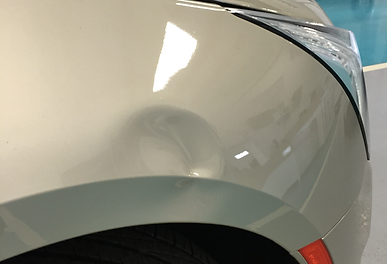 Hail Before after dent removal paintless