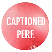Captioned Performance Icon