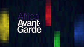 "A poster that says ""African Avantgarde"""