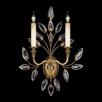 Fine Art, Crystal Laurel Wall Sconce
