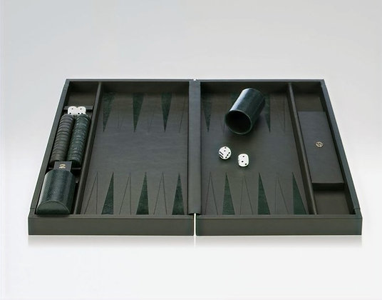 """Delfino"" Backgammon Board (Armani Casa)"