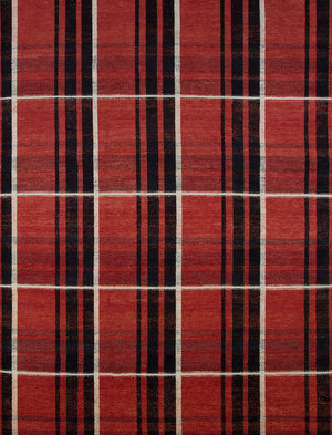 French Accent, Highland Plaid Rug