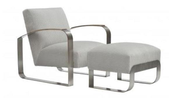 Donghia, Dee Lounge Chair & Ottoman