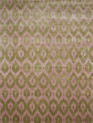 French Accent, Ikat Pile Rug