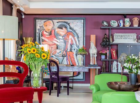 Harper's Bazaar Takes on Living In Interiors