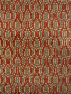 French Accent, Ikal Pile Rug