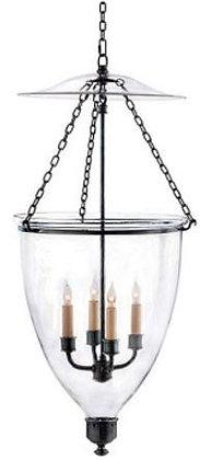Visual Comfort, Chelsea Smoke Bell Lantern