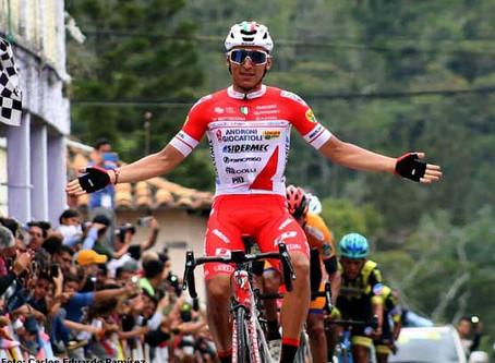 Jhonatan  Restrepo Ganó en el Tour de Ruanda