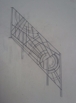 drawing of the panel