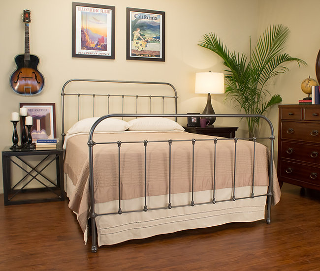 Hudson Iron Bed
