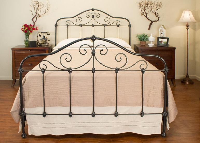 Claiborne Iron Bed