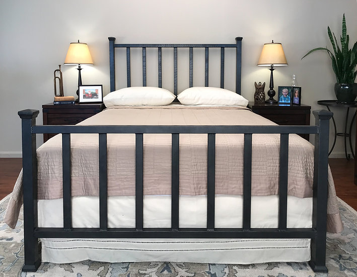 Bellview Iron Bed