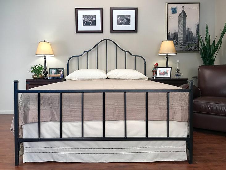 Gustavian Iron Bed