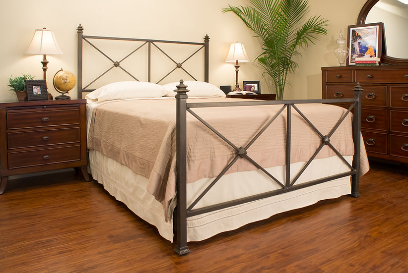 Clairmont Iron Bed