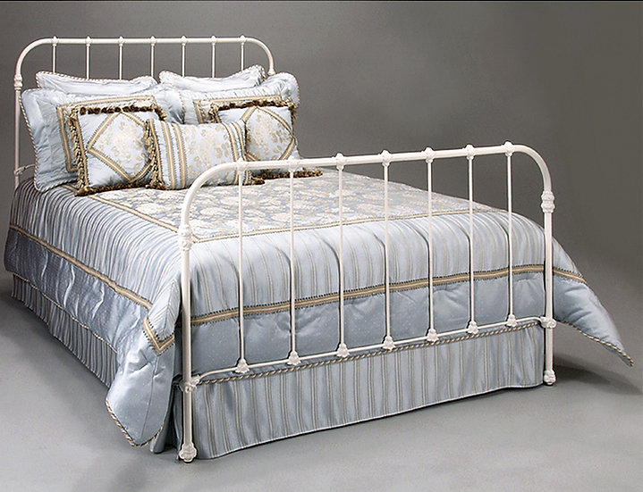 Twin Complete Monticello Iron Bed - Dark Iron