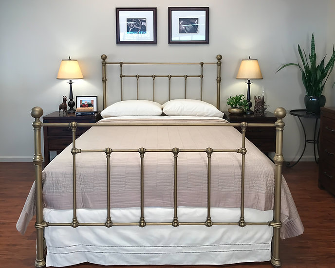 Bainbridge Iron Bed
