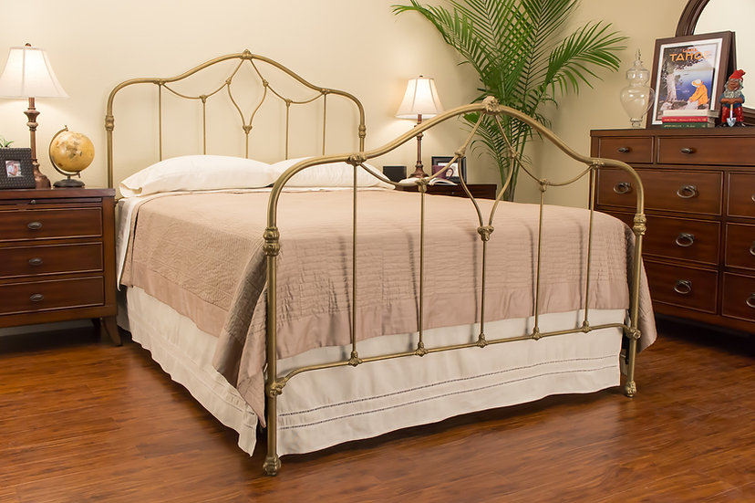 Columbia Iron Bed