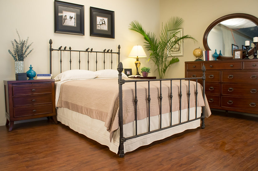 Homewood Iron Bed