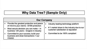 Why My Company