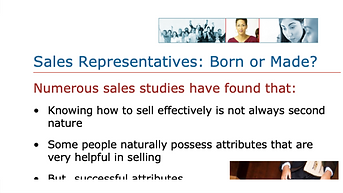 How Good a Sales Rep Are You