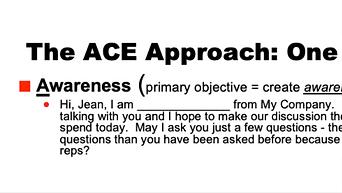 ACE Approach