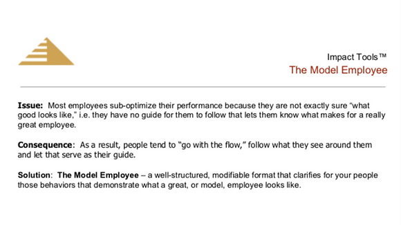 The Model Employee