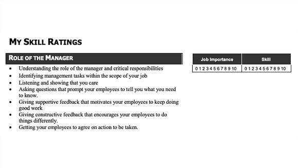 Manager Skills Assessment