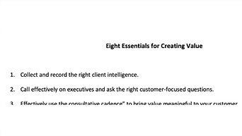 8 Critical Components of Creating Real Customer Value