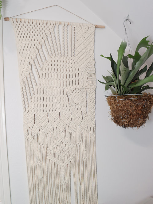 Funky Retro 70's Wall Hanging