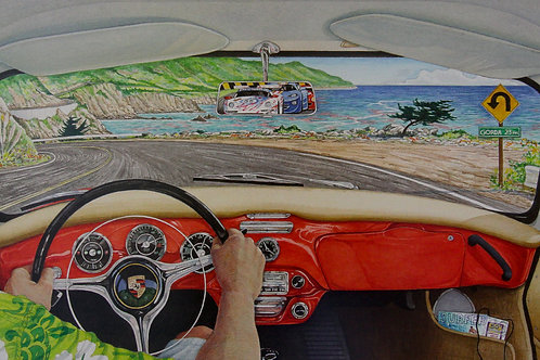 Big Sur Porsche
