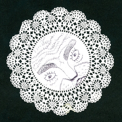 Drawn on Doily #8