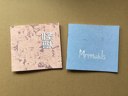 KAIJU & MERMAID zine pack!
