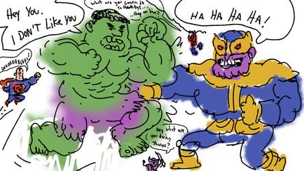 hulk don't like thank