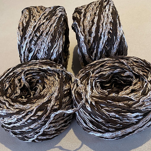 4Ply Cotton/linen Tape Yarn  Made in Italy