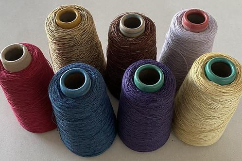 2/3 Ply Linen/Cotton/Viscose 200 gram cone