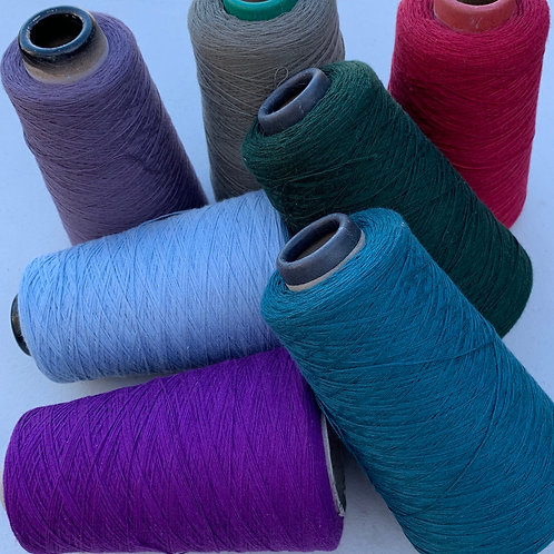 80% Cotton/20%Wool 2 Ply Palette A