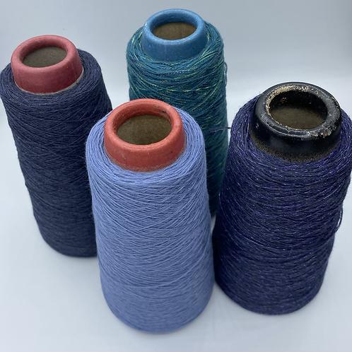 2 Ply Cotton Viscose  100 Gram cone Palette B