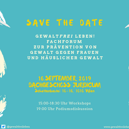 Save the date! 16.09.2019