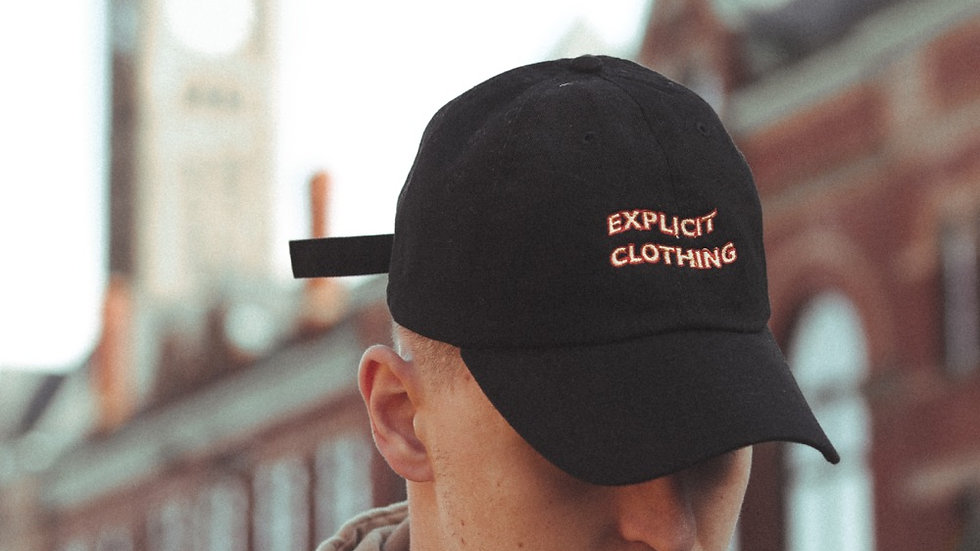 Embroidered Wavey Explicit Hat
