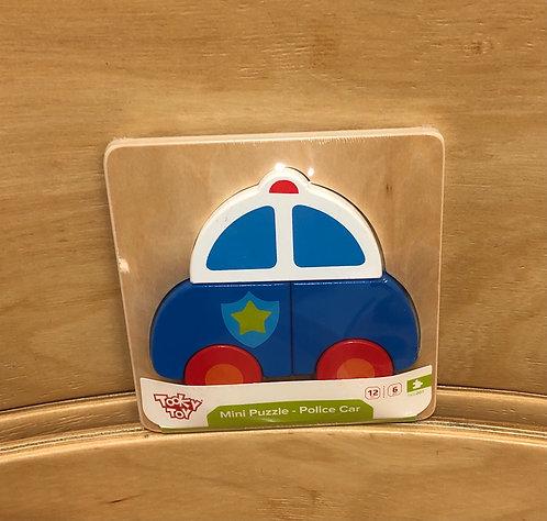 Mini brinquedo de encaixe - Polícia TKG007
